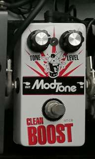 Modtone clean booster