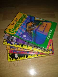 R.L.Stine's Books for Clearance Sale