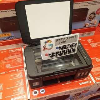 Printer canon g3000 bisa dicicil proses cepat