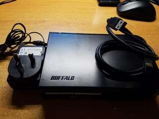 Buffalo 2TB  外置硬碟