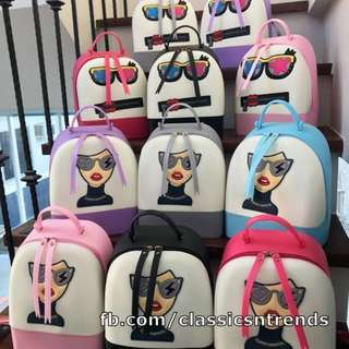 Cute Jelly Character Backpack