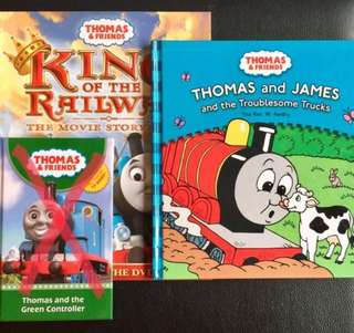 Thomas & Friends Story Books - 2 books