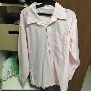 Pink long sleeves