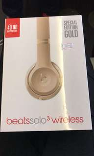 Beats Solo3 Wireless Headphones in Gold