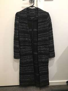FOREVER NEW longline cardigan jacket - size 4 can be worn by size 6