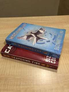 Catching Fire and Mockingjay (from Hunger Games Trilogy)