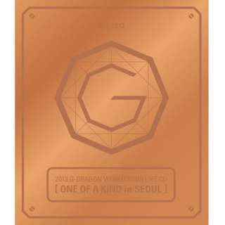 G-DRAGON - ONE OF A KIND IN SEOUL (2013 G-DRAGON WORLD TOUR LIVE) [BRONZE VER]