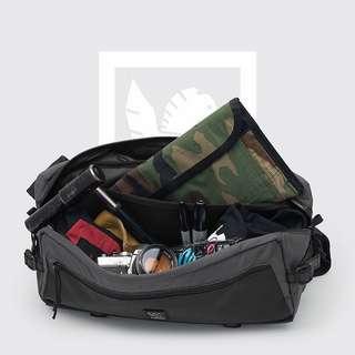 Chrome Messenger Bag