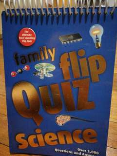 Family Flip Quiz - Science