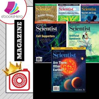 American Scientist 2017 Full Year Collection English