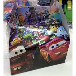 Cars Party Box