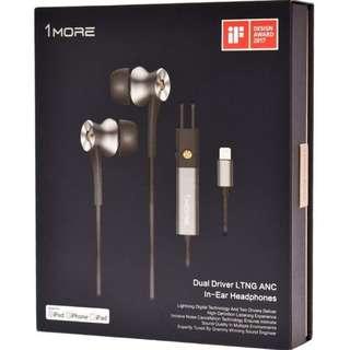 1More E1004 Lightning Active Noise Cancelling earphones