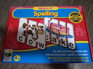 Spelling Puzzle - The Learning Journey