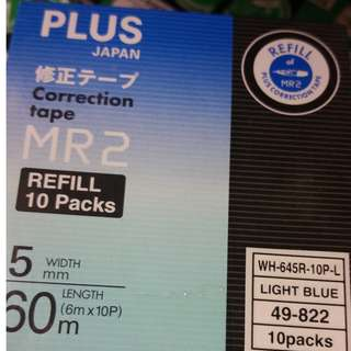 PLUS Correction Tape MR2 (Refill Pack of 10)