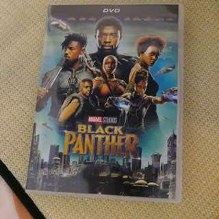Dvd moive Black Panther