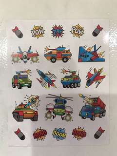 Mini KABOOM Stickers
