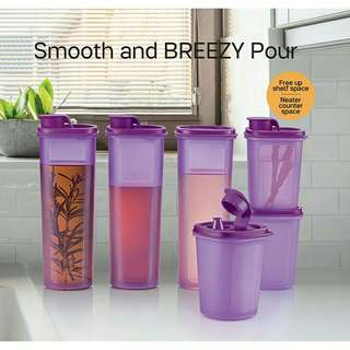 💥BIG SALE💥 (6pcs)Tupperware Breezy Pour