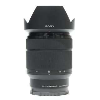 Sony FE 28-70mm F3.5-5.6 OSS Lens (99.99% Like New, full warranty)