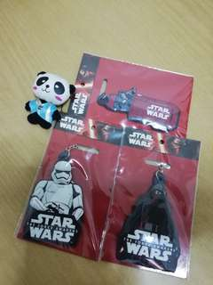 Collective 3 Star War Keychains