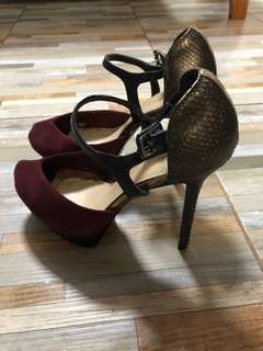 charles and keith heels only P300