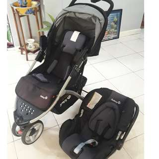 Safety 1st Stroller and Carrier/Car Seat