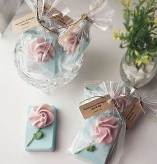 [Teachers Day Gift] - Handmade Soap - Flowers 01