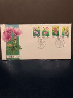 Clearing At more than 50% Below Face Value: Singapore 1991 Flora Set of 4 First Day Cover