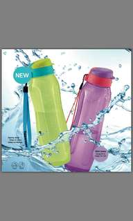 All New Tupperware 1L Slim Eco Bottle (1 set)