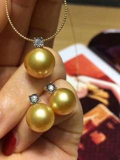18K鑽石王妃款套裝 可單買,可配套
