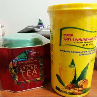 Fortune and Mason Christmas Spiced Tea