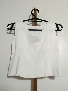 Crop Top White