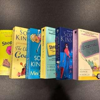 Shopaholic books set
