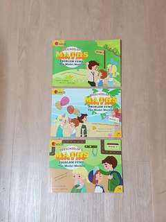 Preschooler's Maths - Problem Sums: The Model Method, Book 1 to 3, Kid's Educational Books
