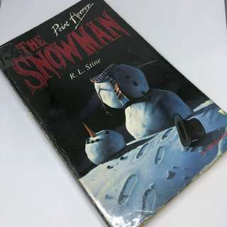 R.L Stine - Point Horror - The Snowman
