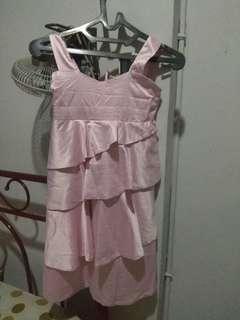 Dress anak pink