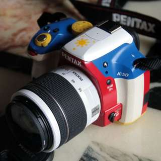 pentax K-50 weatherproof DSLR camera Philippine flag edition