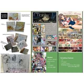 Artbooks - Vermilion Fantasy, Monter, Elusivo