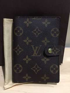 Authentic Louis Vuitton Agenda PM