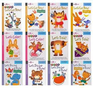 Kumon Children First Step Activity Books