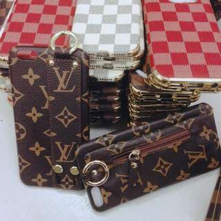 LV & MK cases for iPhones