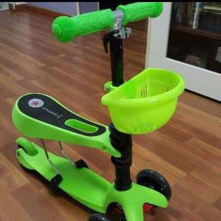 3 in 1 kids scooter with delivery