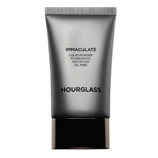 Final sale $50 by 15/7*New Hourglass Immaculate Liquid Powder Foundation Porcelain (good for oily/combination skin)