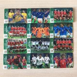 7-11 2004 歐洲國家杯 限量版 國家隊 球員 3D 卡