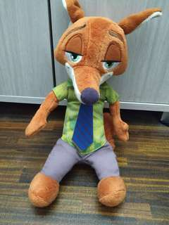 Zootopia Nick Wilde Fox soft toy