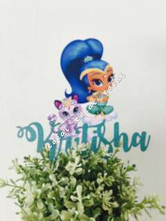 Customized/Customised Cake Topper
