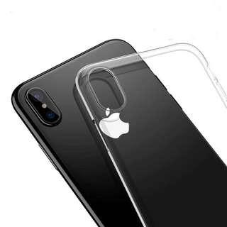 🚚 iPhone X Transparent Jelly Case