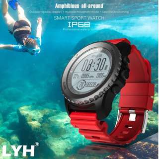 🚚 LYH-98 Waterproof GPS Smart Watch