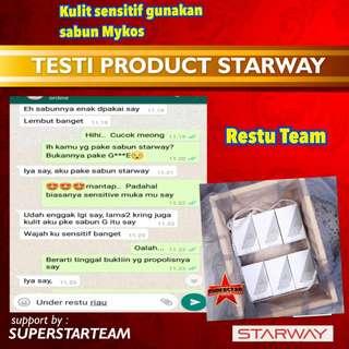 Paket skincare dr starway sabun+serum