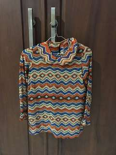 Blouse in tribal