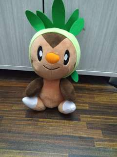 Pokemon chespin soft toy